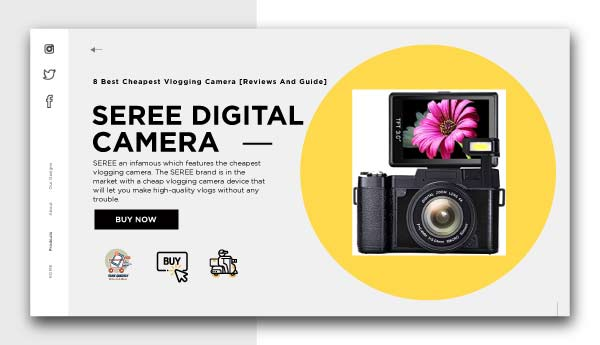 best cheapest vlogging camera-SEREE-DIGITAL-CAMERA