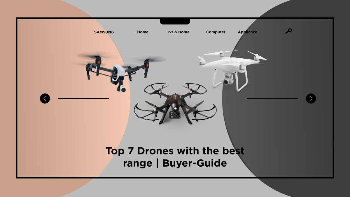 drones with the best range-takequickly